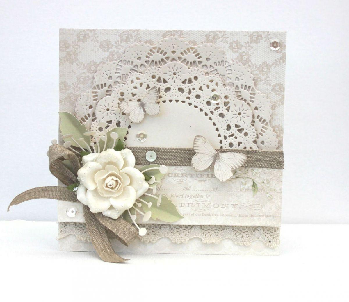 Wedding Card by Johanna  DIY u Crafts that I love  Pinterest