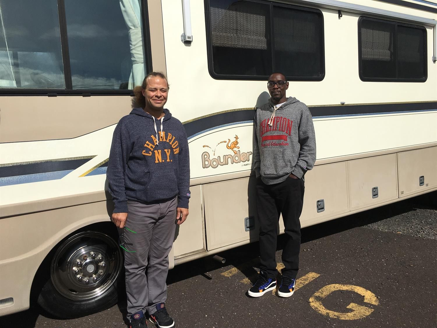 Congratulations Mark The Open Road Awaits You And Your New 1997 Fleetwood Bounder Thank You Again Fretz Rv Al Papa In 2020 Fleetwood Bounder Fleetwood Rv