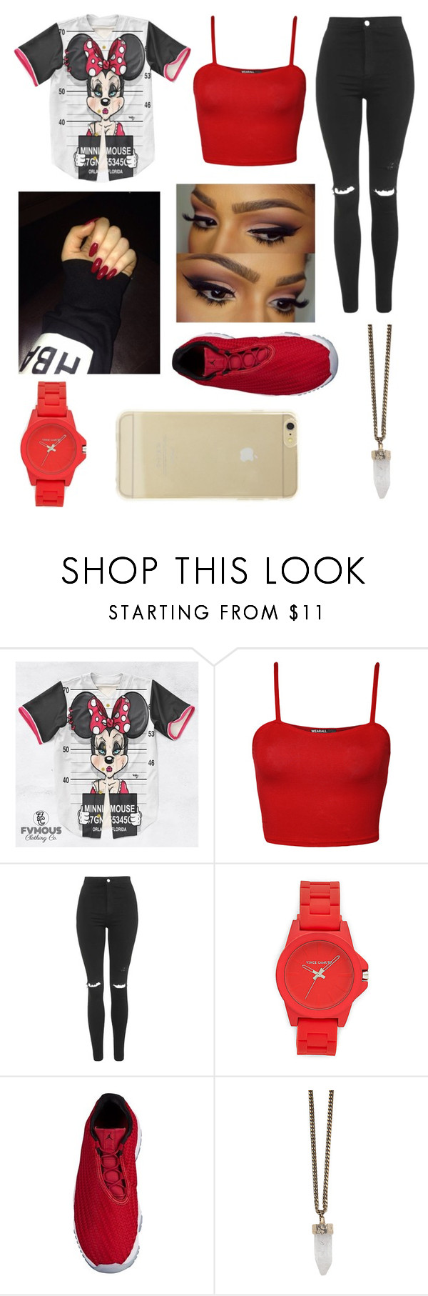 """""""❤"""" by fashion-1407 on Polyvore featuring WearAll, Topshop, Vince Camuto, Givenchy and Sonix"""