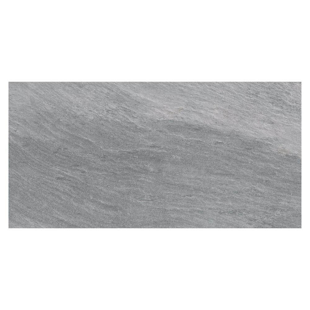 Rockwood Stone Porcelain Tile - 12in. x 24in. - 100221035 | Floor and Decor