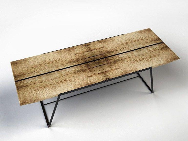 Tavolo architetto ~ Cargo by ironwoods tavolo rettangolare in cedro cm