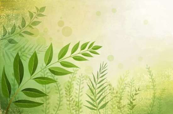 Free Eco Friendly Graphics Psd For Download Vector Flowers Grass Background Nature Wallpaper