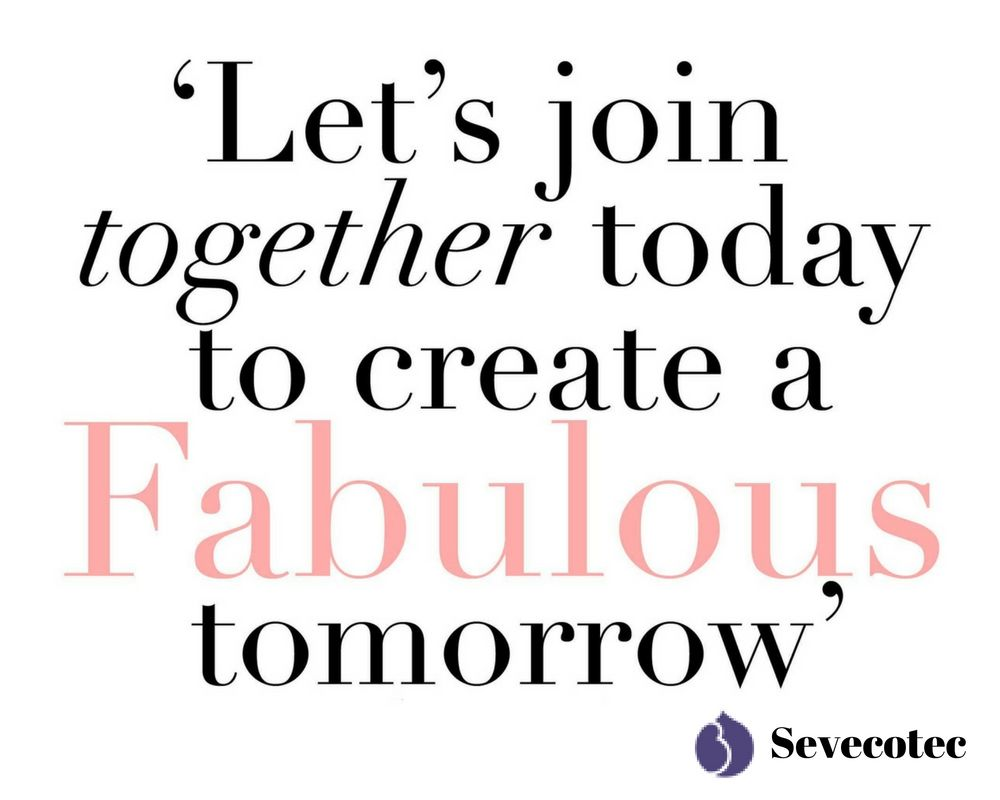 Together Quotes Let's Join Together Today To Create A Fabulous Tomorrow