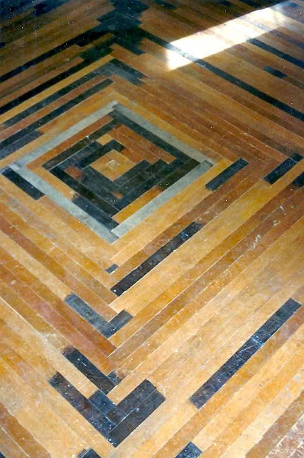 Patterned Wood Floor Flooring Too Pretty To Walk On Pinterest