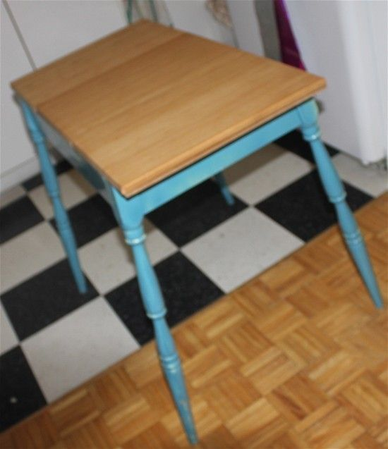 A Compact Kitchen Table / Island For A Small Space. Http://www