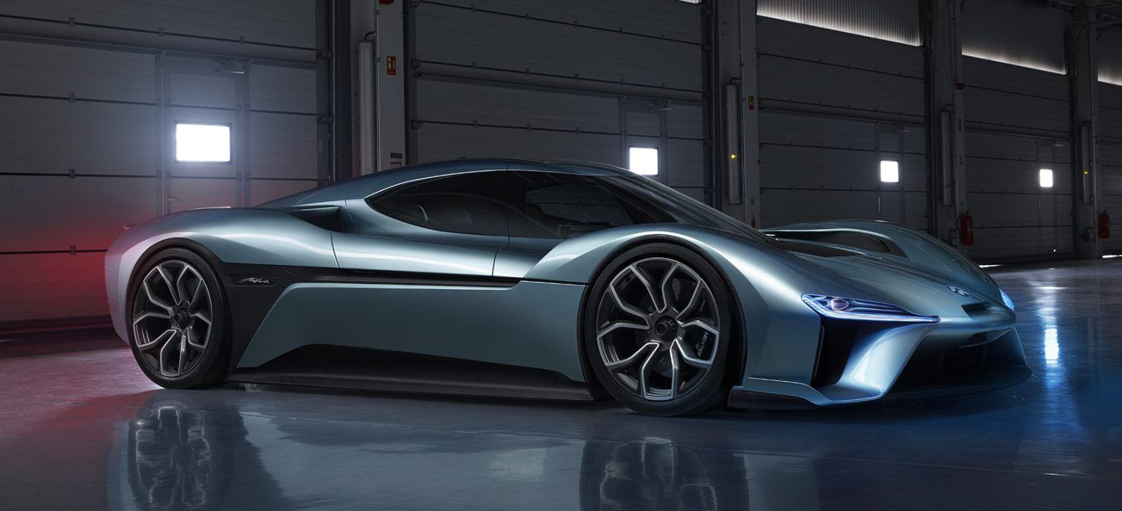 Nextev Launches New Brand Nio And Its First Electric Car 1 Mw Supercar With 265 Miles Range Top Speed Of 194 Mph Electrek Electric Cars Super Cars Fast Cars