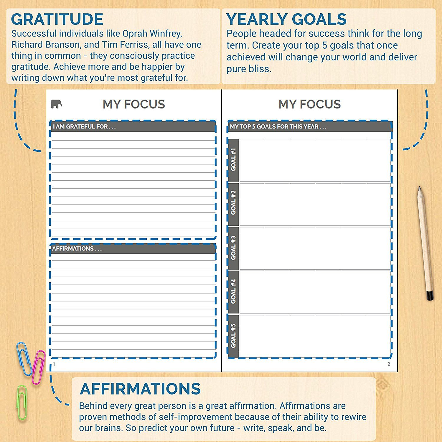 AmazonCom  The Simple Elephant  Best Agenda Day Planner To