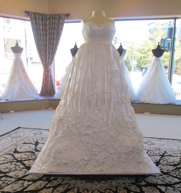 Wedding Gown Cakes: Wedding Dress Cake