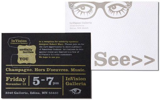 Invision Eyeware By Sussner Design Co Print Design Design