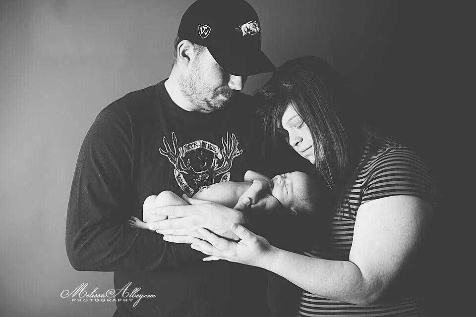 Newborn baby  Melissa Albey Photography  Hot Springs Arkansas