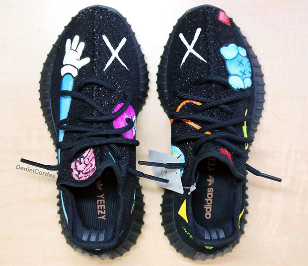 35b0711ab09 Sneaker customizer imagines what a KAWS x adidas Yeezy Boost collab might  look like.