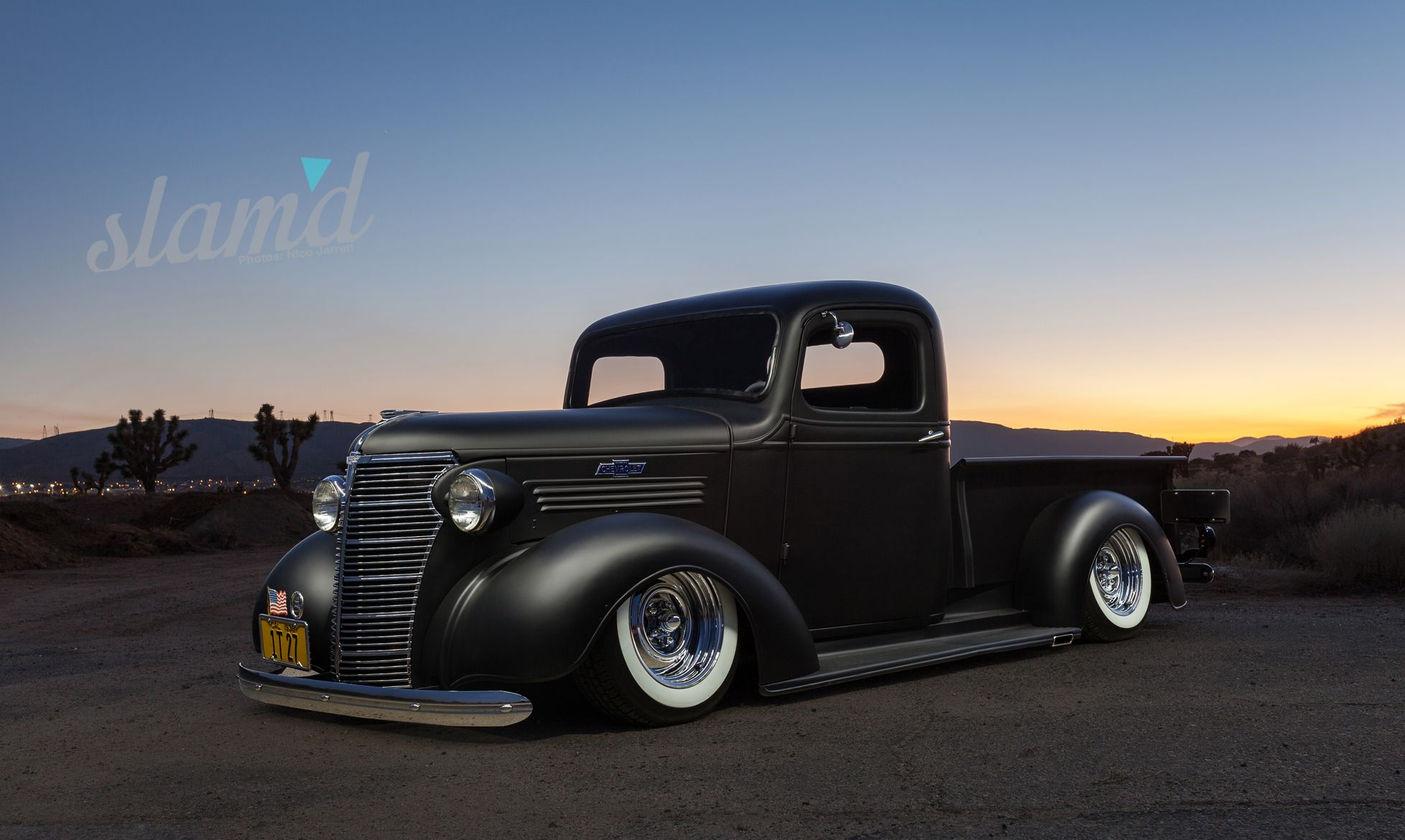 Enjoy The Build Monty Rubart S 1938 Chevy Pickup Slam D Mag Chevy Pickups Chevy Old Chevy Pickups