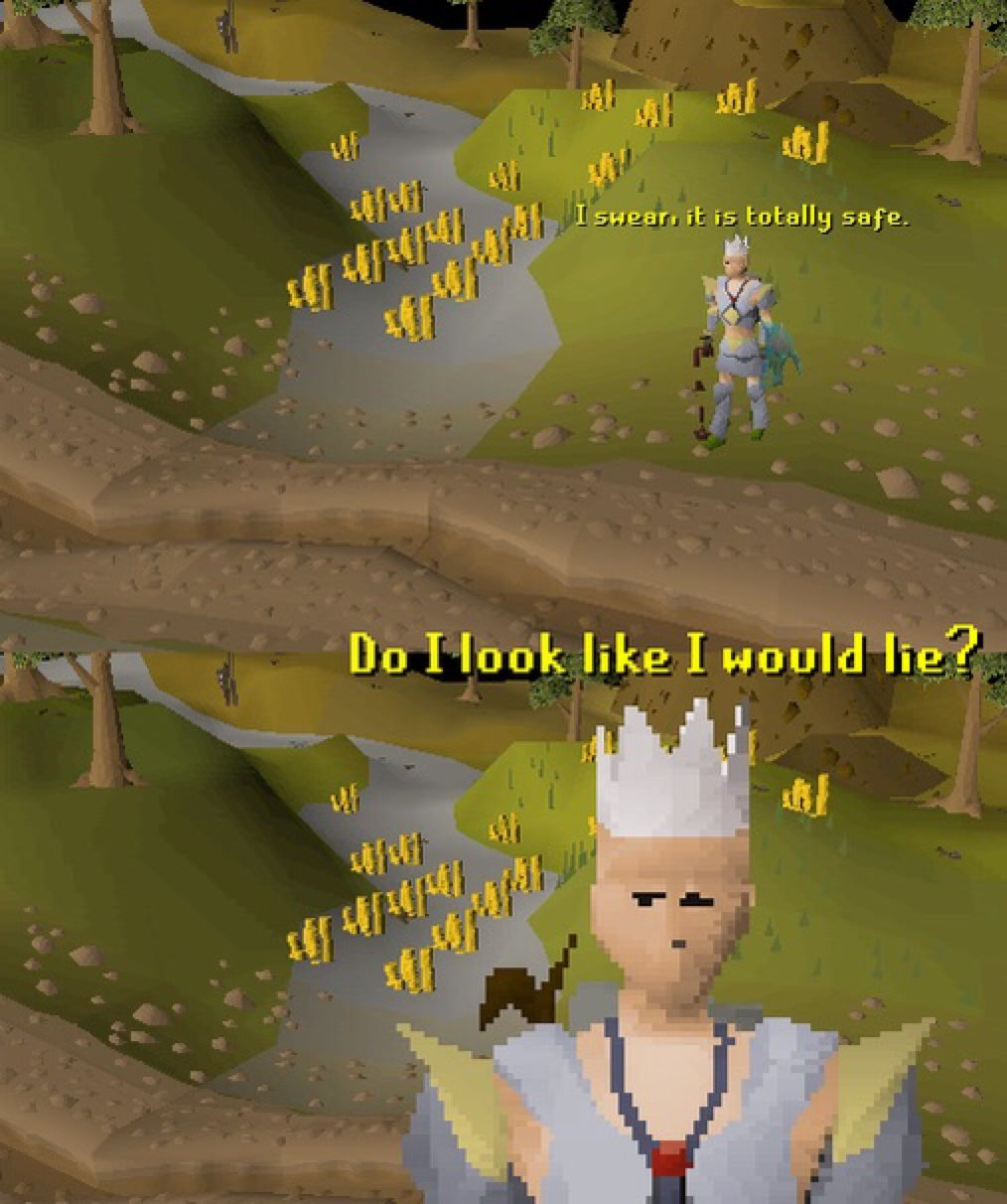What A Liar Lol Code Rsmar6 For You To Buy Cheapest Osrs Gold On Rsorder Com 10mins Delivery Runes Old School Runescape Buddy The Elf Meme Funny Photos