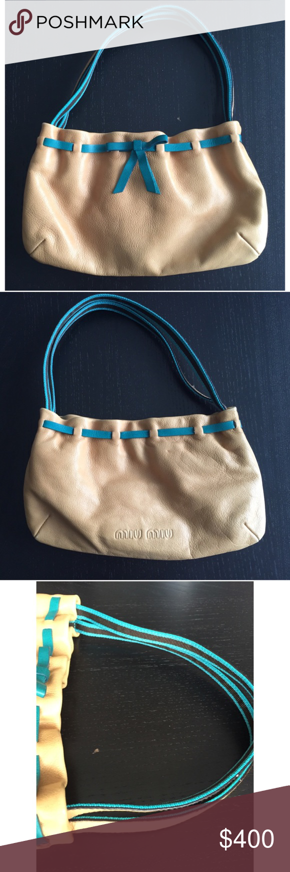 🤑 Flash Sale! Rare Miu Miu Mini Handbag NWOT a23ae0ecfe