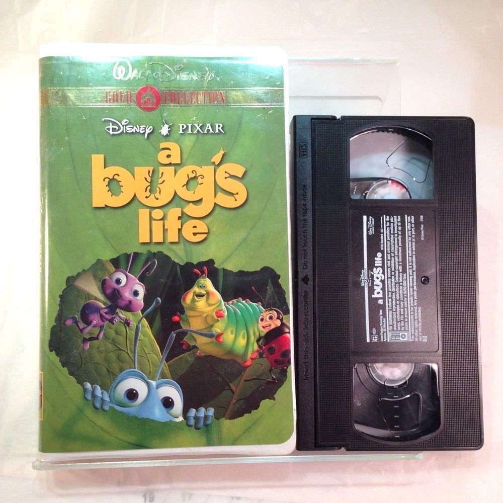 Disney Pixar A Bug S Life Vhs 2000 Gold Collection Usa Disney Pixar Childrens Movies Pixar