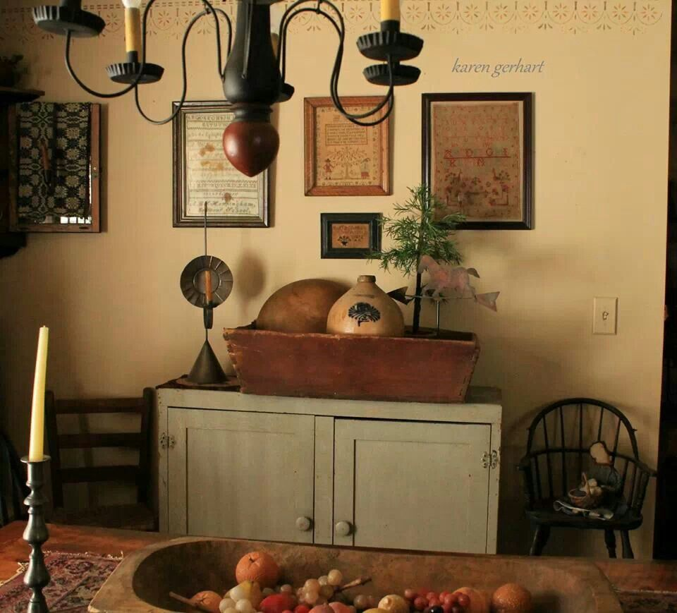 Pin By Karen Crawn On Home Decor: Country & Antique Decorating