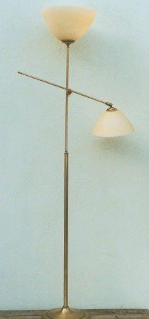 Vloerlamp Hengel Lees Toplicht Met Mat Champagne Calimero Kappen Nr 5 04 265 59 Vloerlamp Leeslamp Kappen