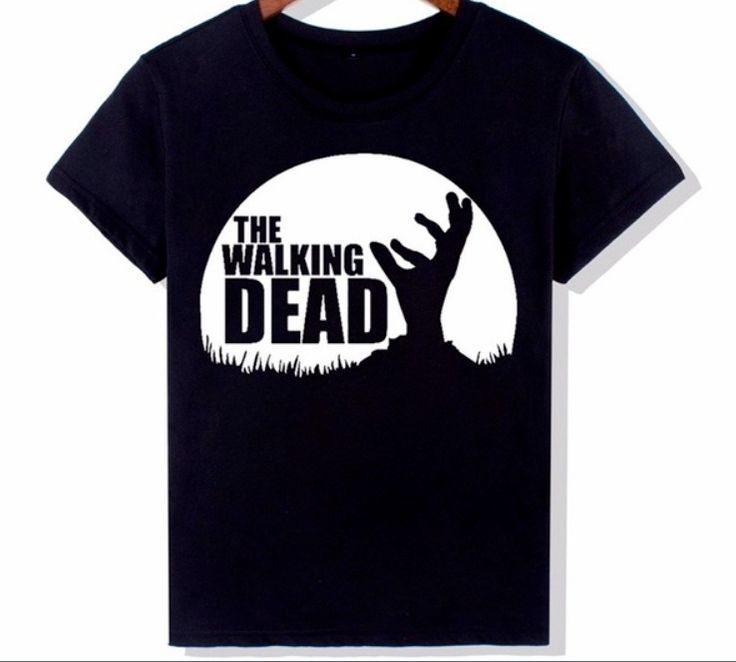 The Walking Dead Womens Black Geographic Short Sleeve Shirt Size S/M  | eBay