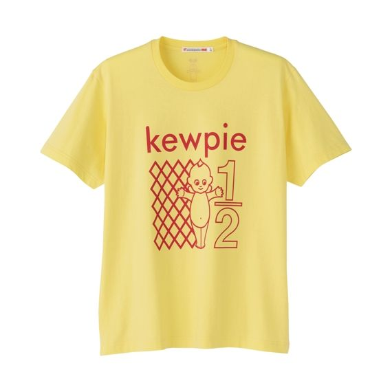 70e395ca7 Kewpie mayonnaise T-shirt from UNIQLO. Same color as mayonnaise ...