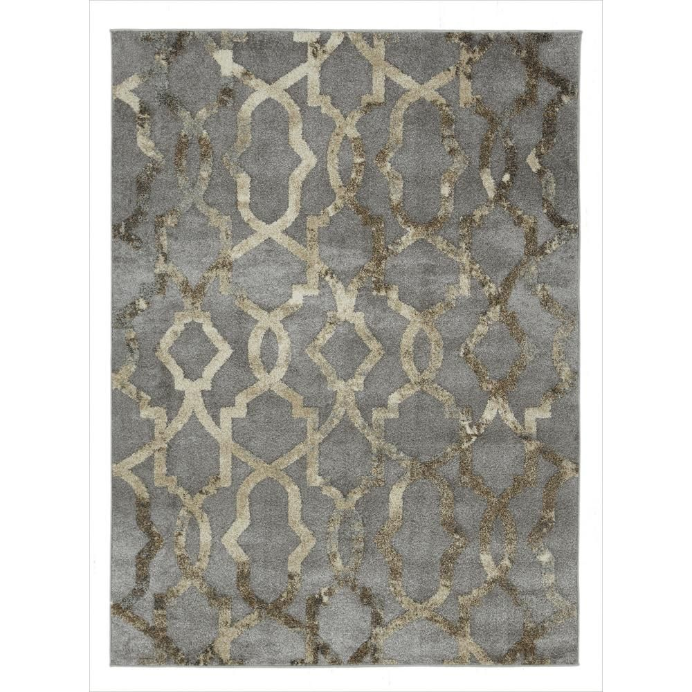 Casamode Urban Collection Faded Grey 5 Ft X 7 Ft Imperial