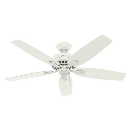 Hunter Fans 52 inch Newsome Damp Fresh White Ceiling Fan