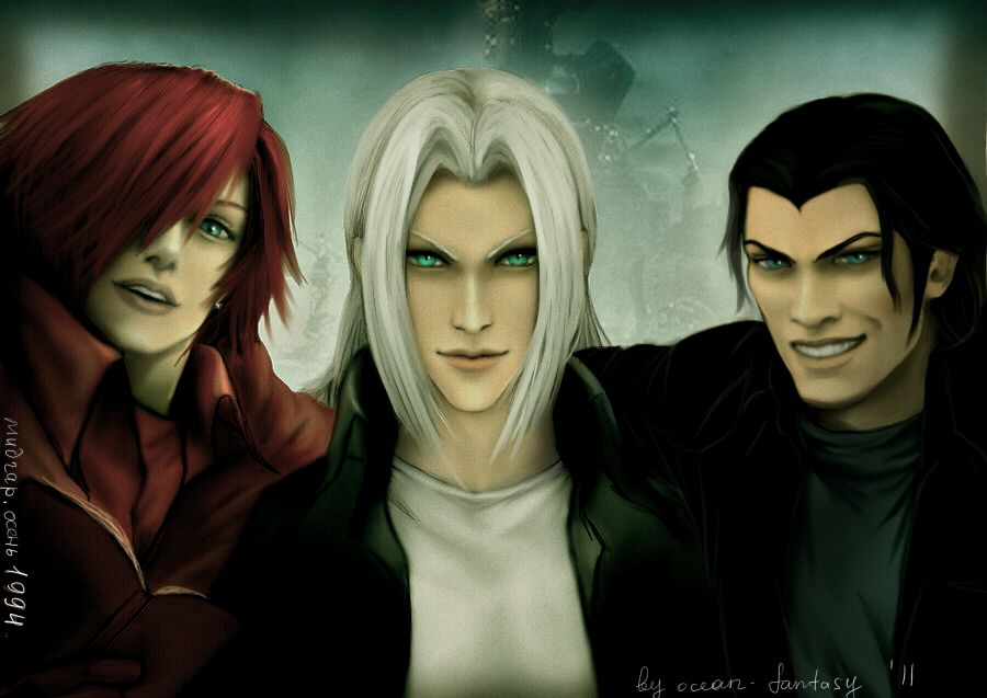 SOLDIERs 3 by ~InSant - Final Fantasty VII (Crisis Core) - Genesis / Sephiroth / Angeal