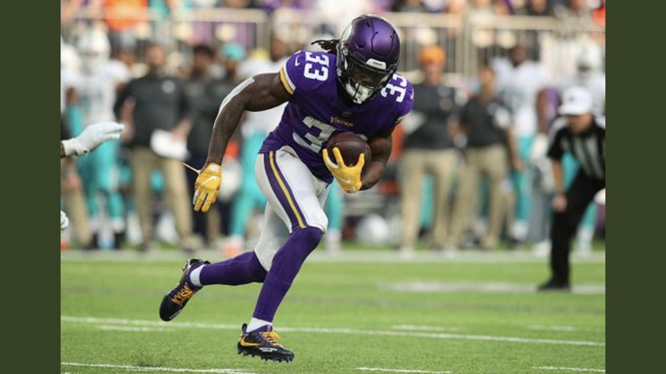 Dalvin Cook is playing great football Football, Live