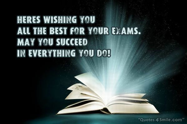 Good Luck Prayer Quotes: Good Luck For Exams Cards With Images To Share