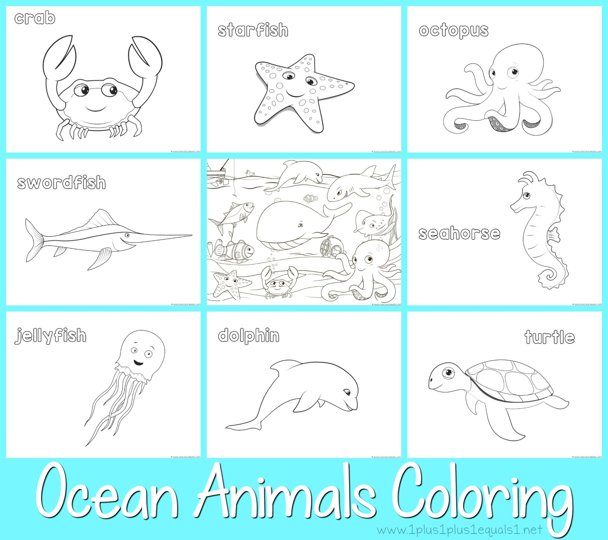 free coloring pages - many on this site | Coloring - Animals ...