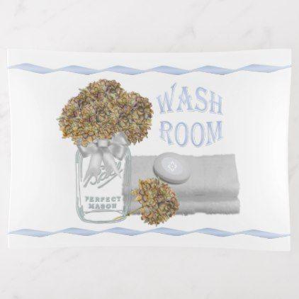 #Hydrangea Bathroom Trinket Tray / Soap Dish - #funny # ...