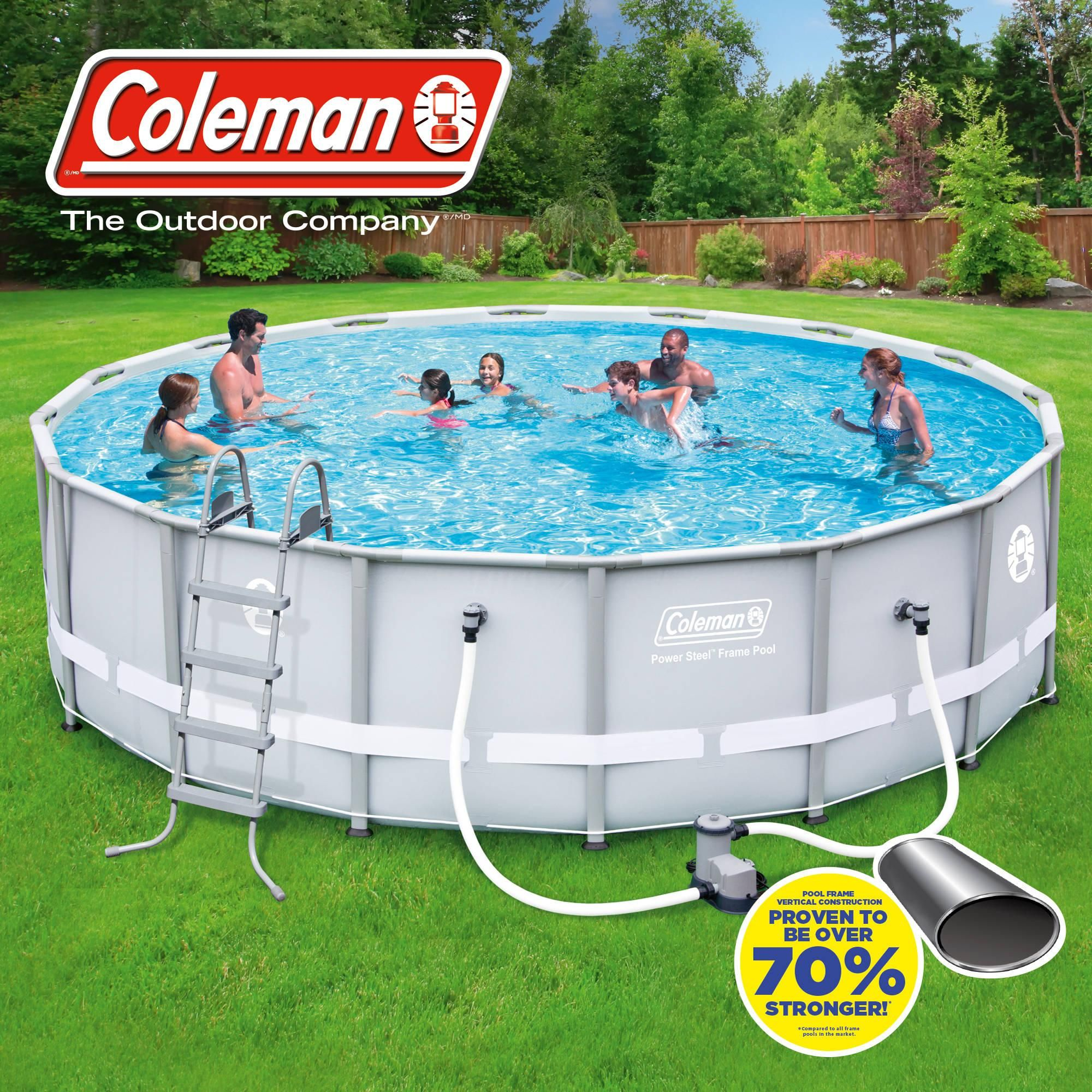 Exterior Endearing Blue Round Hard Plastic Swimming Pools Walmart For Kids On Wooden Deck Tile Enjoyable Out