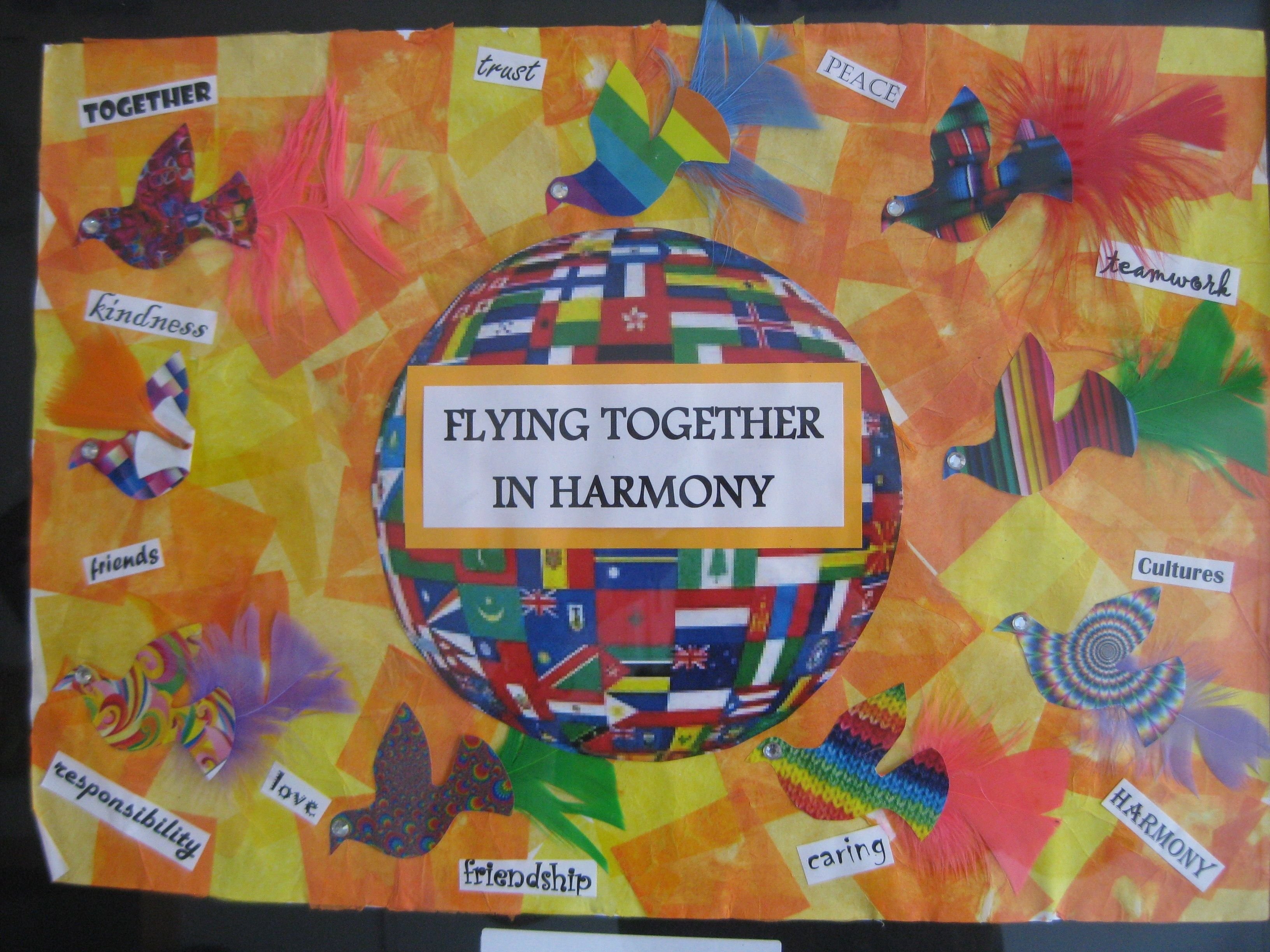 Concord Library Hosted An Exhibition Of The Harmony Day Poster Competition Winners The 42