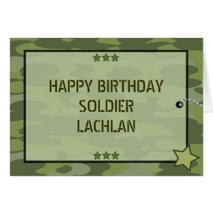 Military army soldier party greeting card soldier party and party military army soldier party greeting card bookmarktalkfo Choice Image