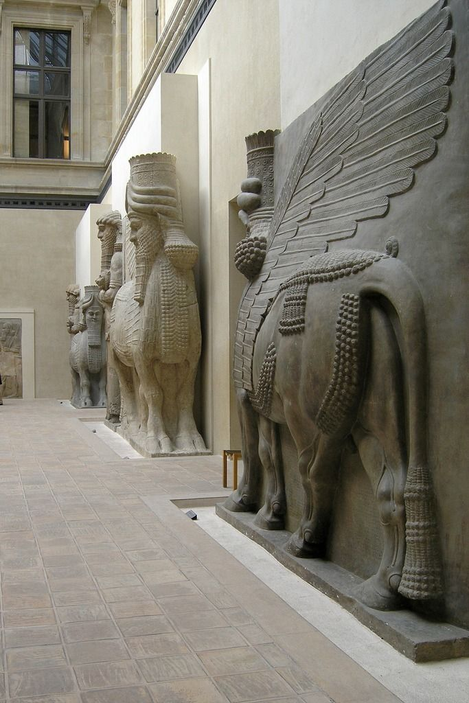 ancientmesopotamia louvre museum view on assyrian