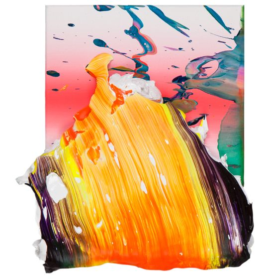 Yago Hortal's Thick Paint Mounds | Beautiful/Decay Artist & Design