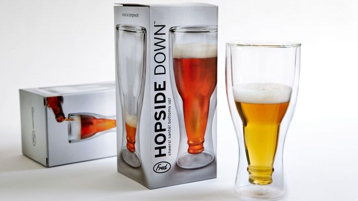 Fred & Friends Hopside Down™ Beer Glasses