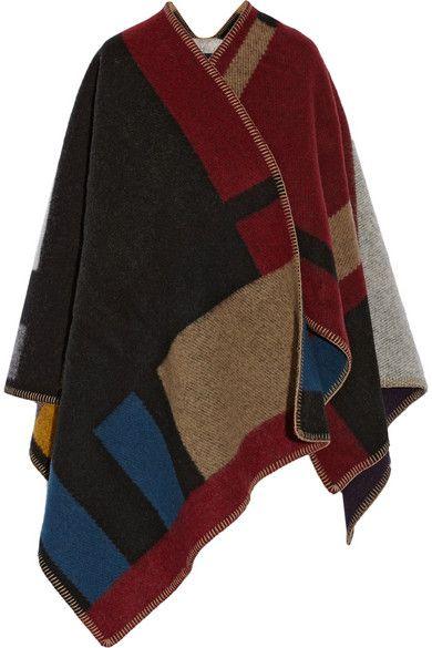 fb6560e83 wearable blanket Wool Poncho, Wool Cape, Sweater Cardigan, Cape Coat, Tweed  Coat