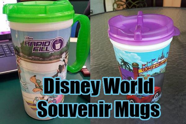 Disney World Souvenir Mug With Handles Returning Disney World Souvenirs Disney Mugs