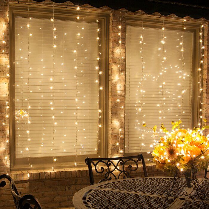 Mini Curtain String Lights