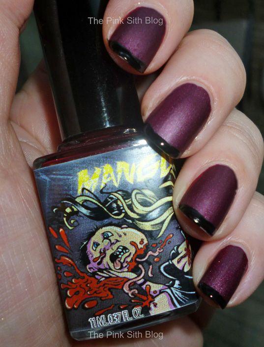 Pink Sith: ManGlaze Fatty\'s Got More Blood Nail Polish - Review ...