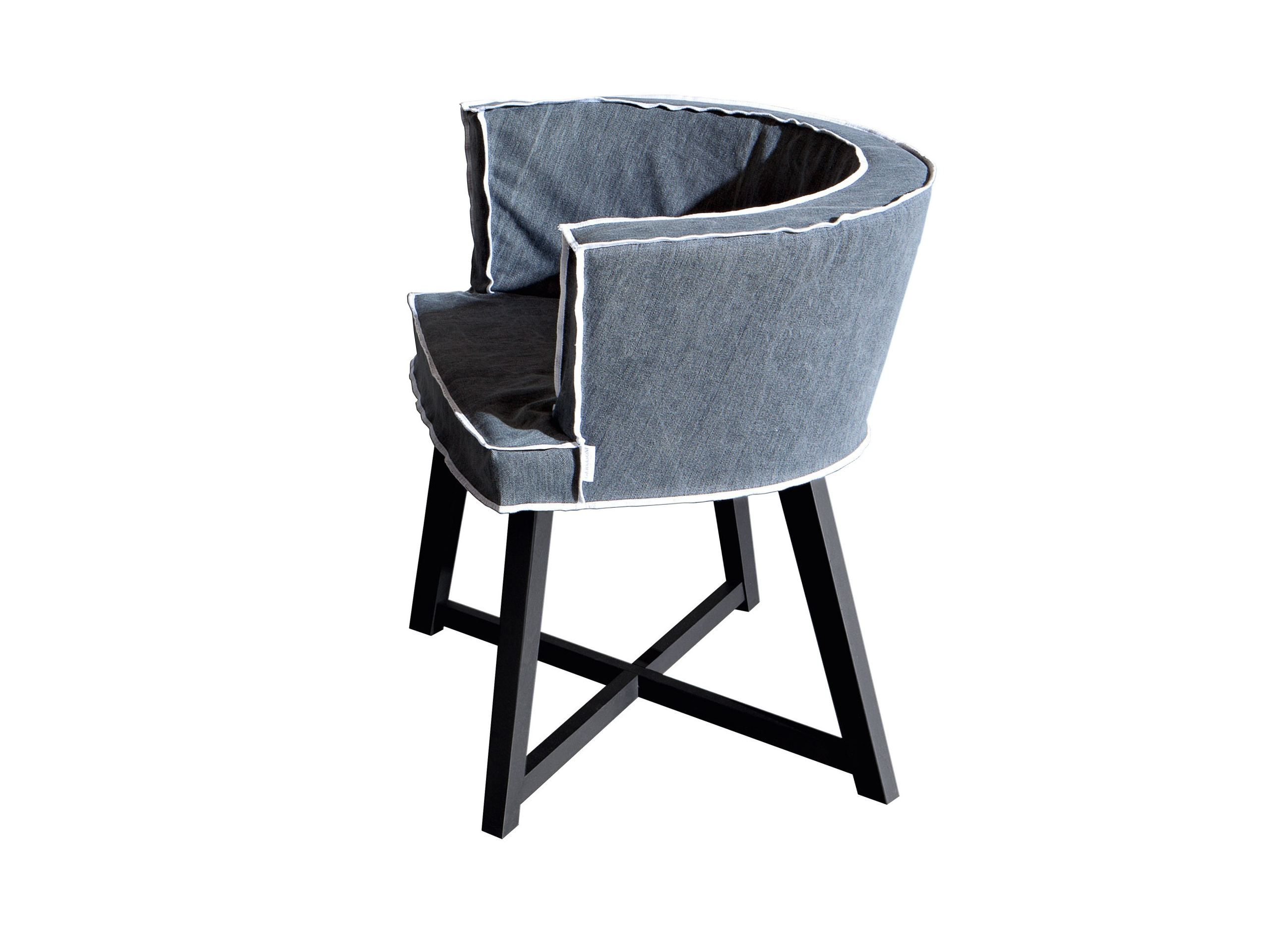 UPHOLSTERED FABRIC EASY CHAIR WITH REMOVABLE COVER GRAY 26 GRAY .