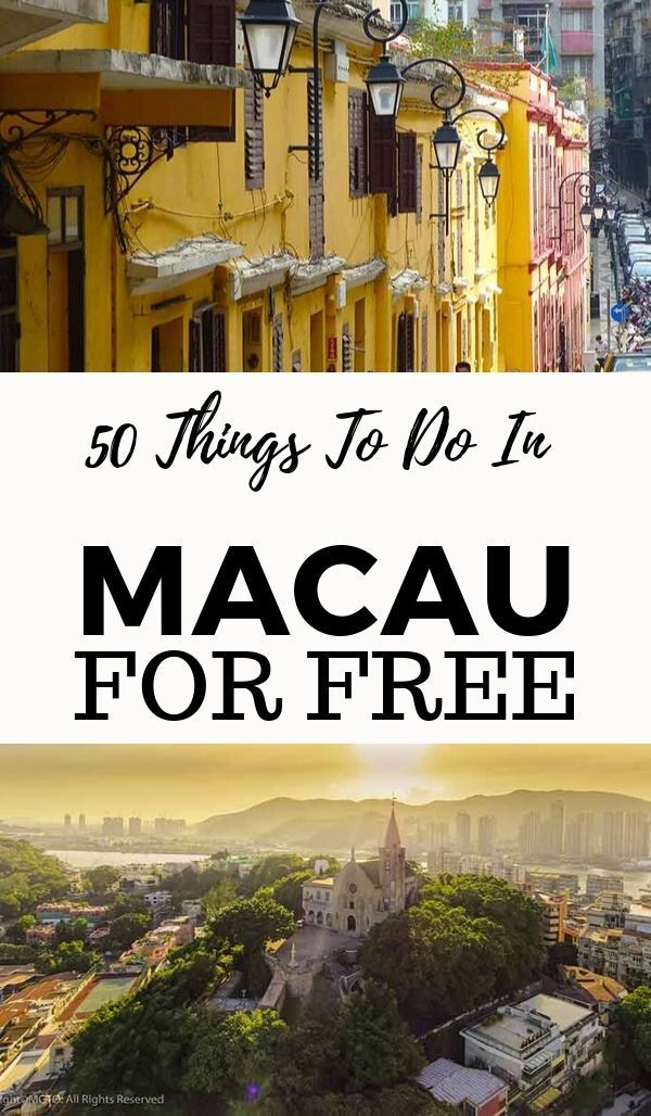 50 FREE things to do in Macau. Exploring charming streetscapes is one of the top free things to do in Macau. #china #asia #thingstodo #wowmacau #macao #visitmacao #visitmacau