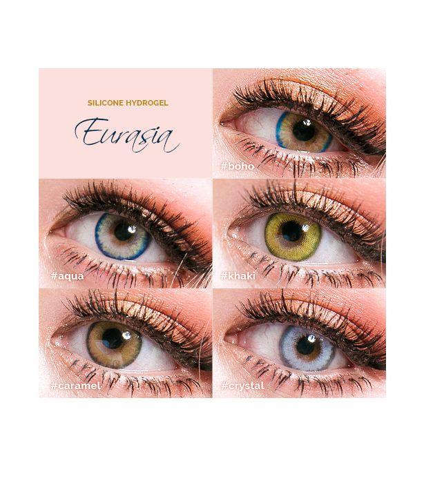 Pinky Eurasia Aqua Blue Circle Lenses | PinkyParadise #coloredeyecontacts