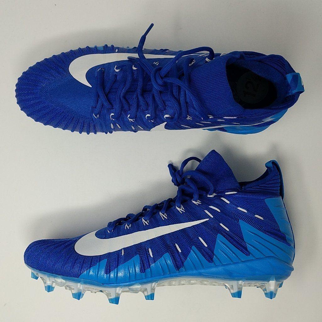 0e621a639b40 Nike Alpha Menace Pro Mid TD Promo Football Cleats Size 16 922813-313 Green  NEW