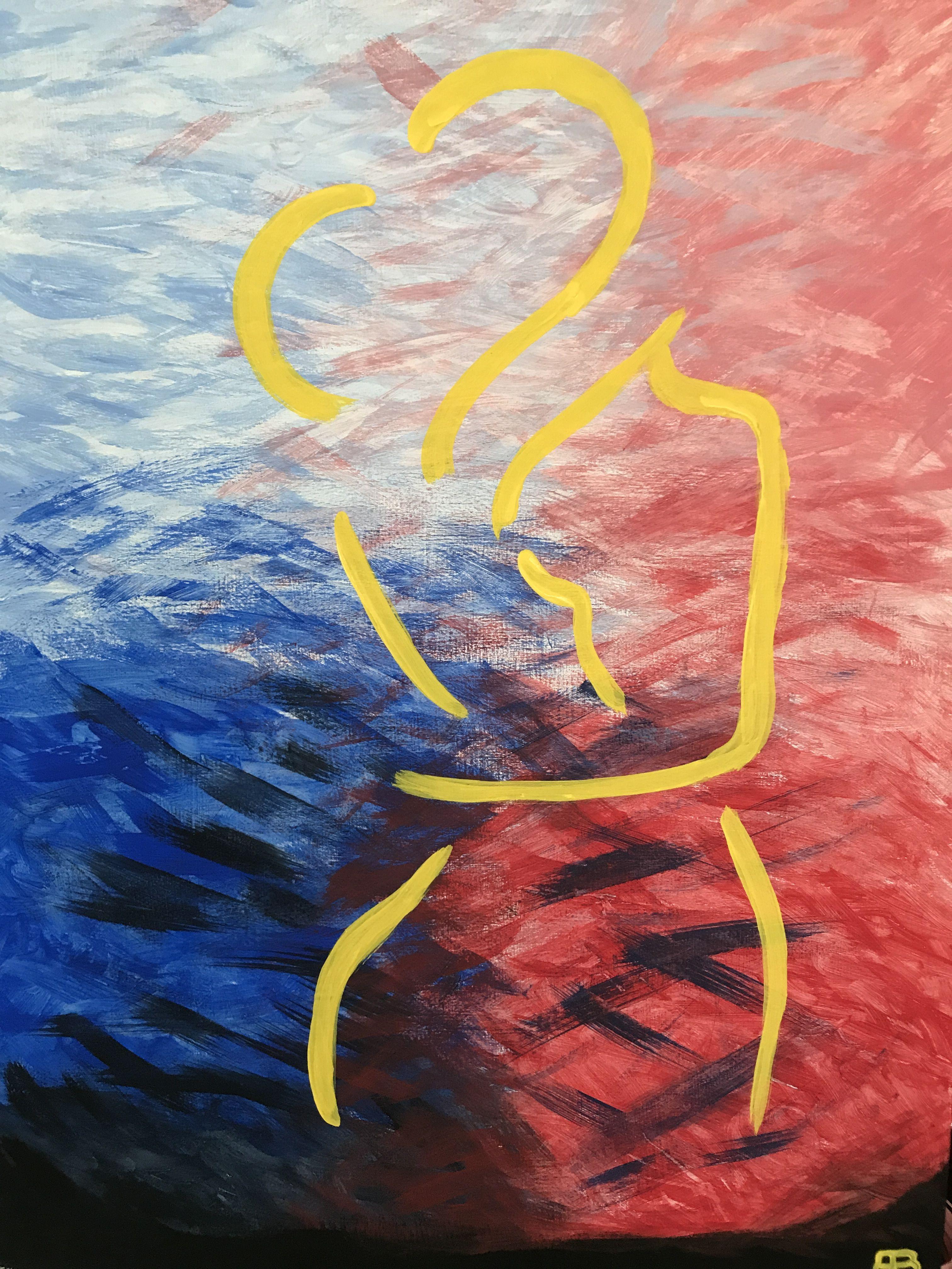 """""""Entre Corrientes"""" Arte Abstracto / Modern Art  #miobra #lovetopaint acrílico"""