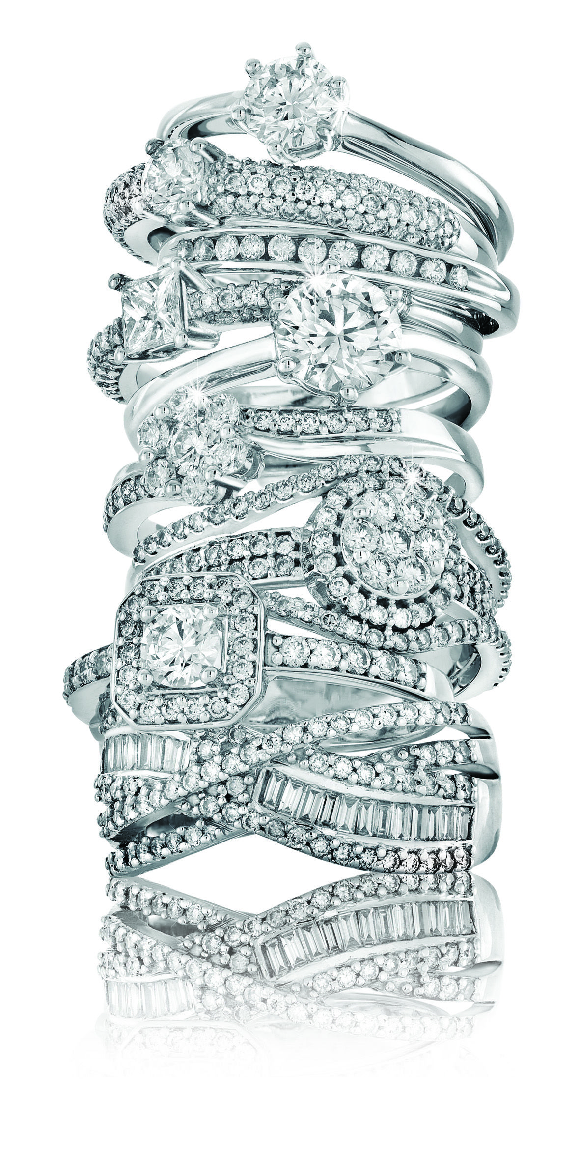 myNWJwishlist Spring Collection Tower 18ct White Gold and