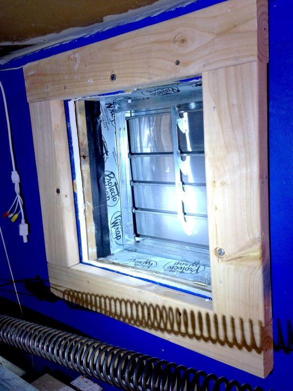 How To Install An Exhaust Fan Garage Ventilation Ventilation System Garage Ventilation System