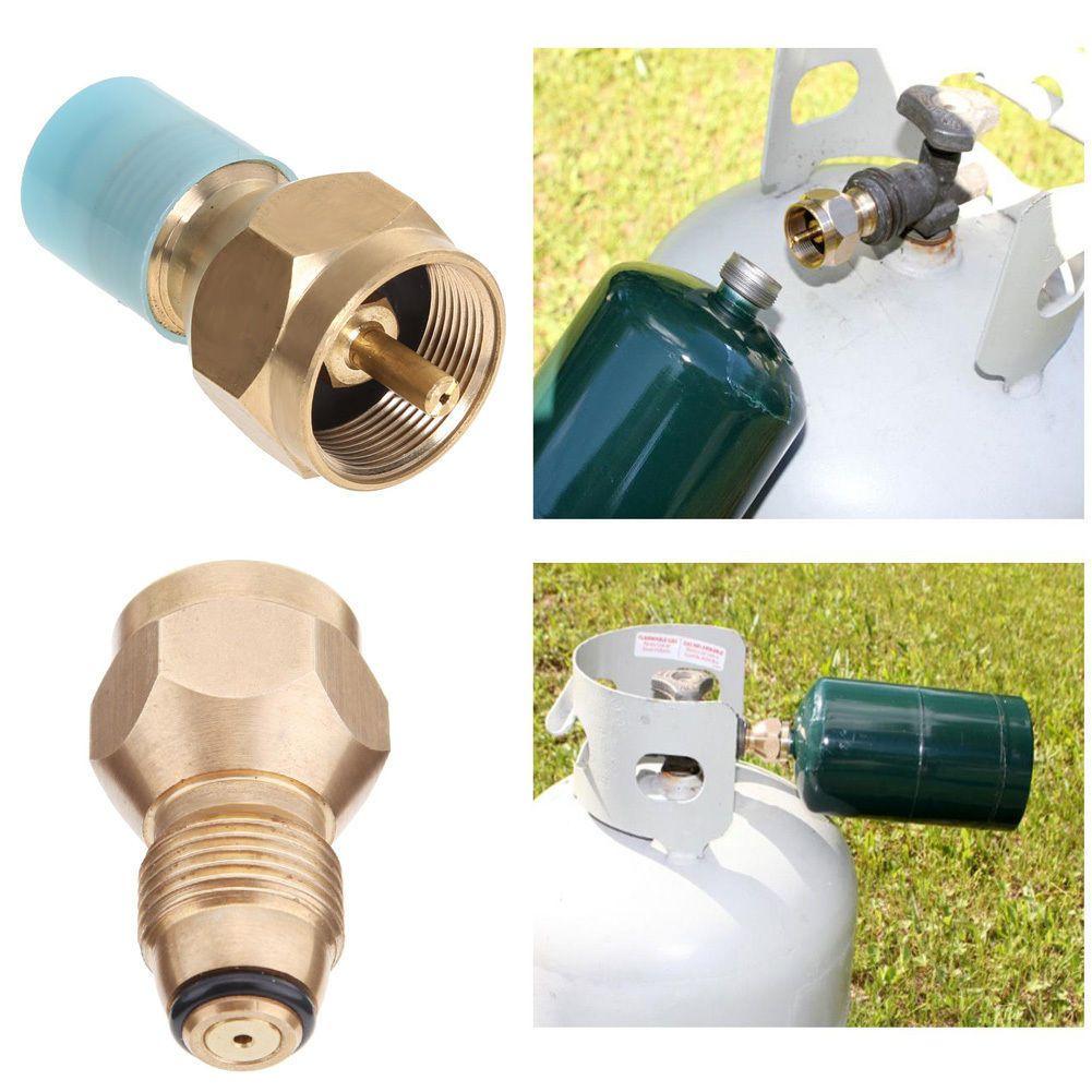 Propane Refill Adapter Lp Gas 1 Lb Cylinder Tank Coupler Heater Bottles SPT Hot