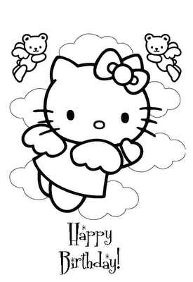 Hello Kitty With Balloons Coloring Page Hello Kitty Coloring Hello Kitty Colouring Pages Kitty Coloring