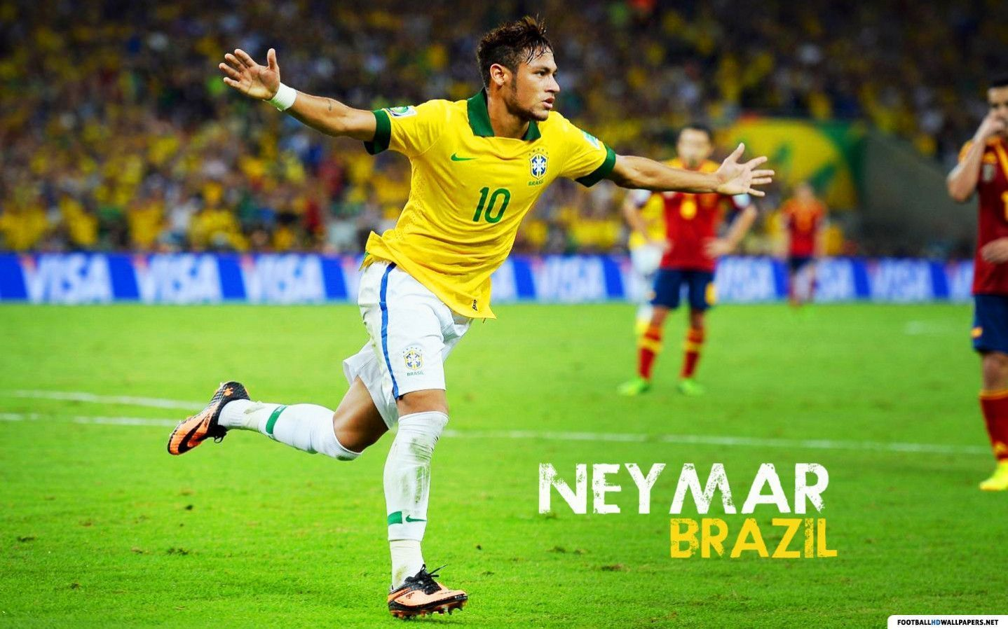 brazil neymar wallpaper 2014 - photo #12